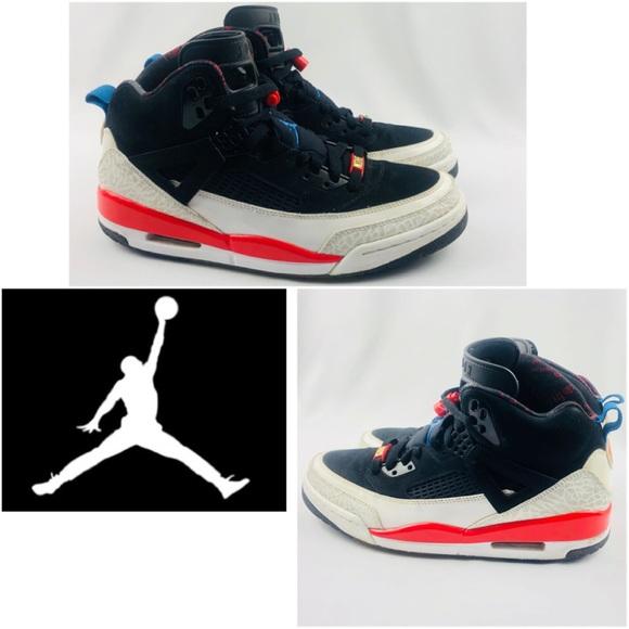 info for 05039 0d576 Jordan Other - 2009 Air Jordan Spizike Black Infrared Blue Shoes
